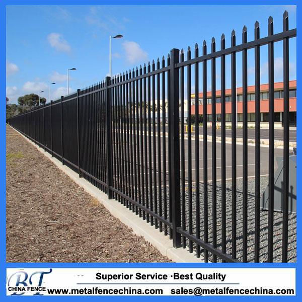 Spear Top Steel Tubular Fence