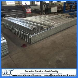 Galvanized guardrail post w beam guardrail price