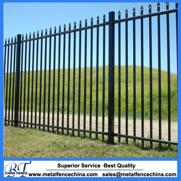 Australia cheap wrought Iron fence for sale, steel fence