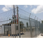 Telecom Tower Galvanized Palisade Fencing