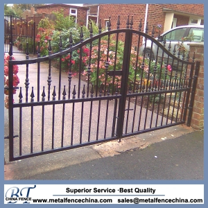 Wrought iron gates and fences