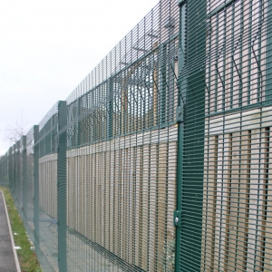 PVC or Powder coated Clearvu fencing