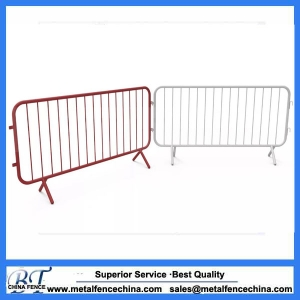 Metal Crowd Control Barriers & Bike Rack Barricade - Galvanized