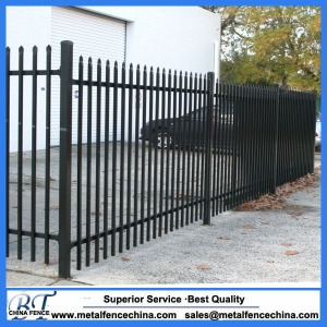 Spear Top Steel tubular Fence