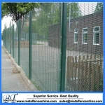 Anti climb security fence