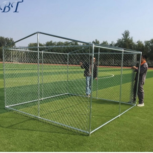 10' x 10' x6' Chain Link Dog Kennel Run