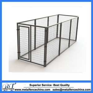 welded wire fence panel dog runs / dog kennel