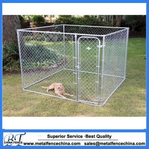 4mx2.3mx1.8m  Large galvanised dog kennel run