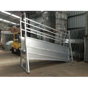 Galvanized Cattle Loading Ramp