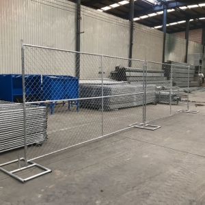 Temporary Construction Chain Link Fence Panels