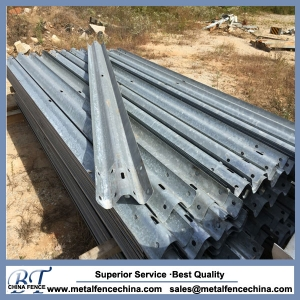 Guard Post Galvanized Highway Guardrail W Beam