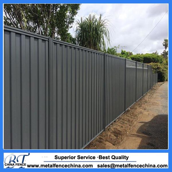 Colorbond fencing|metal colorbond fence