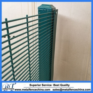 Powder Coated 358 Mesh Security Fencing