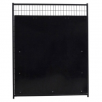 Dog kennel Isolation Panel and Gates