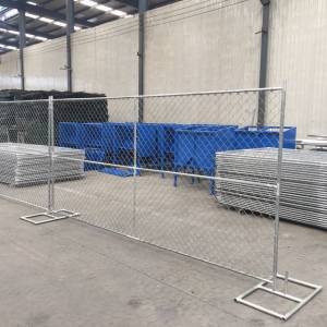 Chain link Temporary construction fence panel