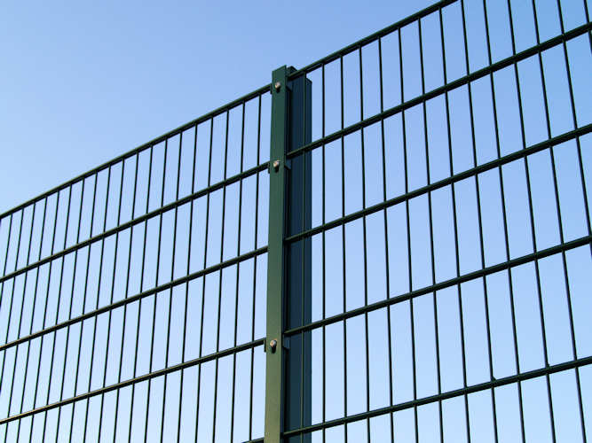 Double Wire Mesh Fence Double Wire Fence