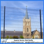 Wended wire mesh Garden fencing