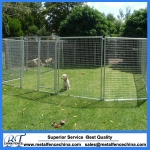 Temporary dog fence