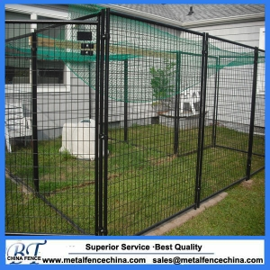Kennel Fence panels for a Dog Boarding Kennel