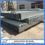 Galvanized guardrail post w beam guardrail price