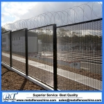 Powder coated galvanized 358 security fencing