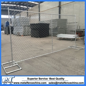 Temporary Construction Chain Link Fencing