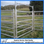 40x80mm 6 bar oval tube Cattle panel