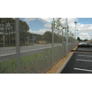 Anti climb security fence