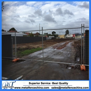 Construction site Use Galvanized Welded Temporary Fence